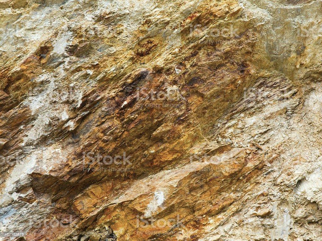 rock nature oxidized stock photo