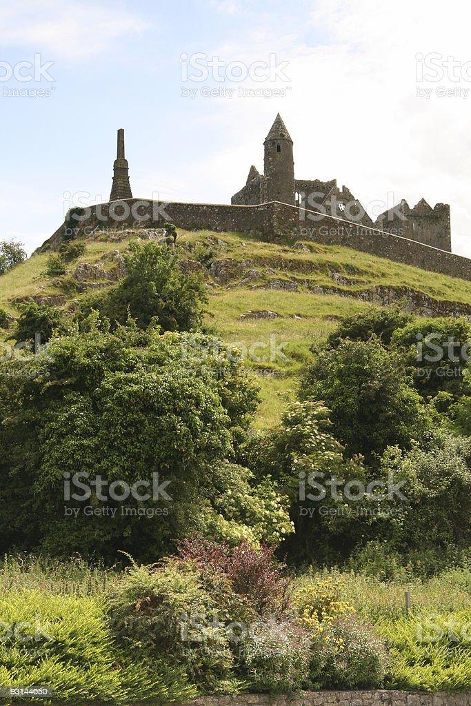 Rock of Cashel Bottom stock photo