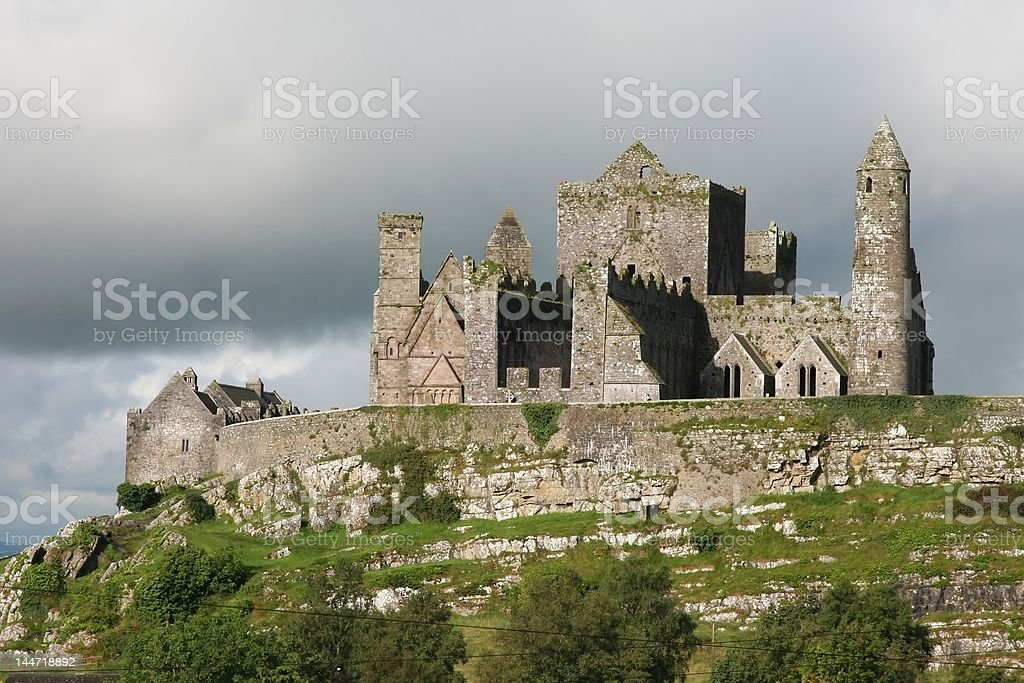 Rock of Cashel stock photo