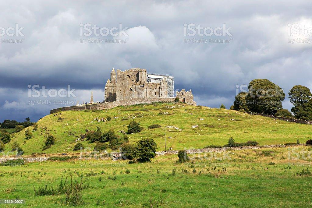 Rock of Cashel. stock photo