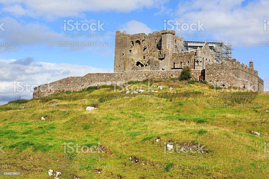 Rock of Cashel stock photo