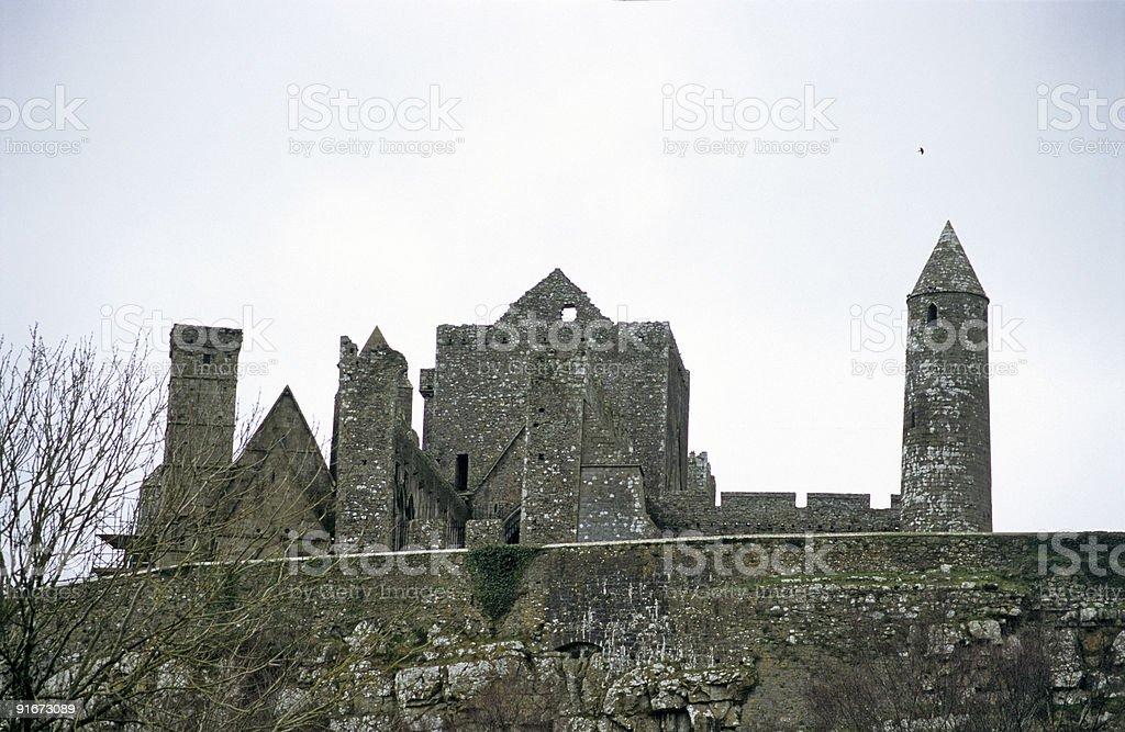 Rock of Cashel royalty-free stock photo