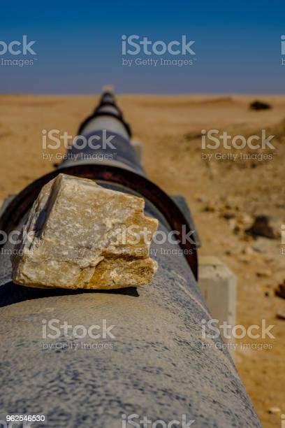 Foto de Rocha Na Tubulação De Água Do Namibe e mais fotos de stock de Acima
