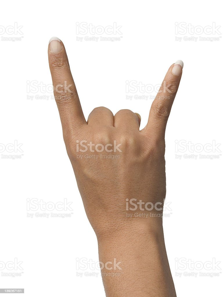 Rock on royalty-free stock photo