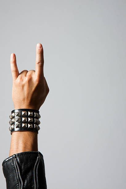 rock on - punk music stock photos and pictures