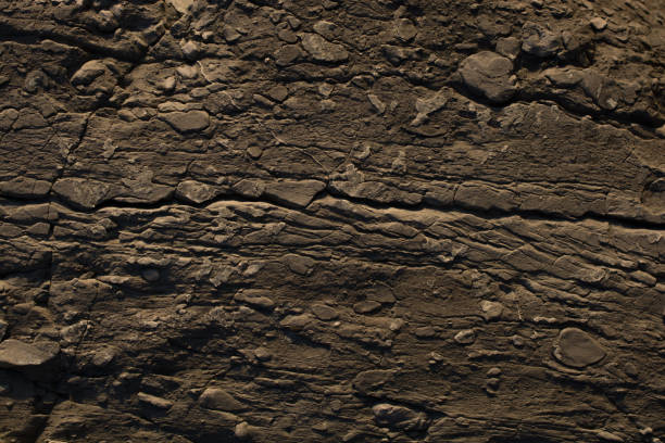 Rock or Stone  surface as  background texture stock photo