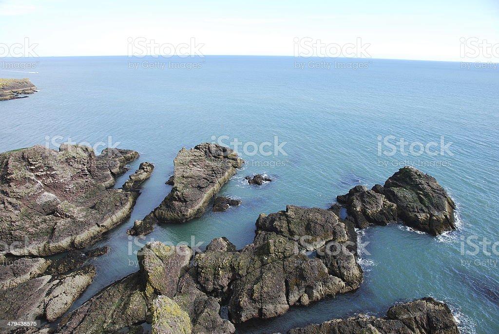 Rock Outcrops royalty-free stock photo