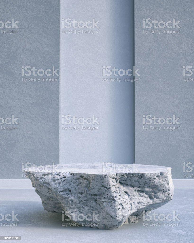 Rock Pedestal stock photo