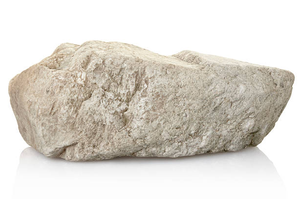 rock rock isolated on white, clipping path included XL rock object stock pictures, royalty-free photos & images