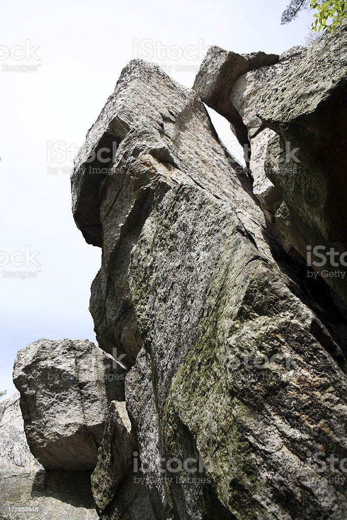 Rock royalty-free stock photo