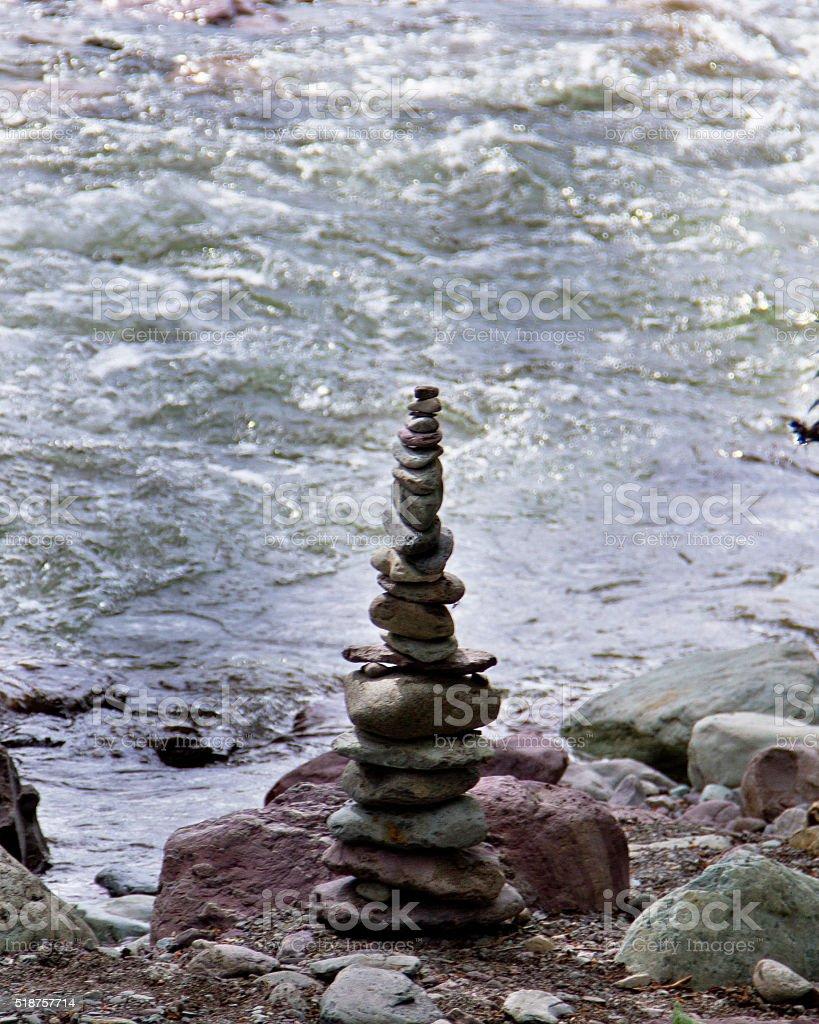 Rock Pile stock photo