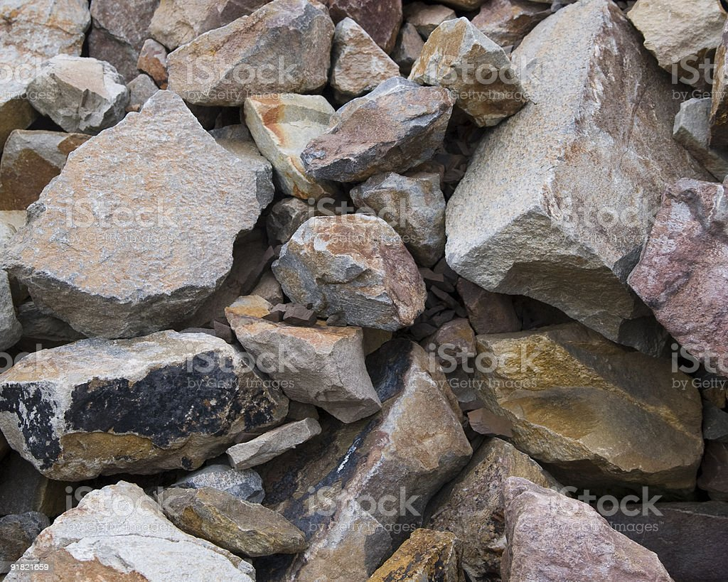 Rock Pile royalty-free stock photo
