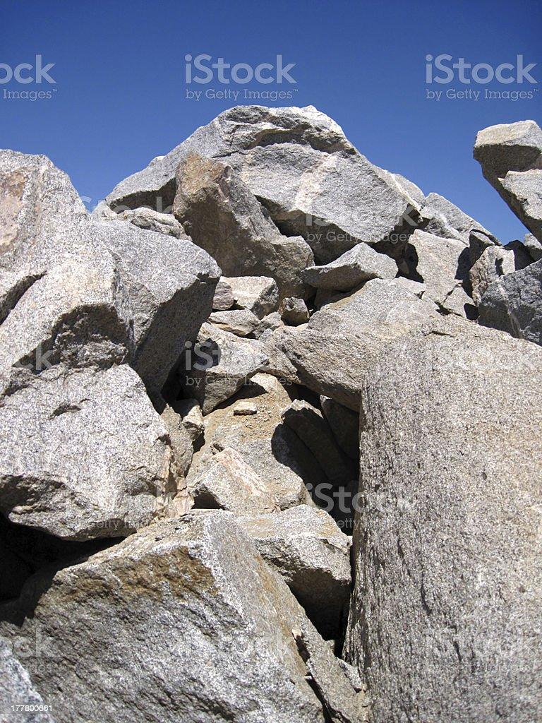 Rock Piles royalty-free stock photo