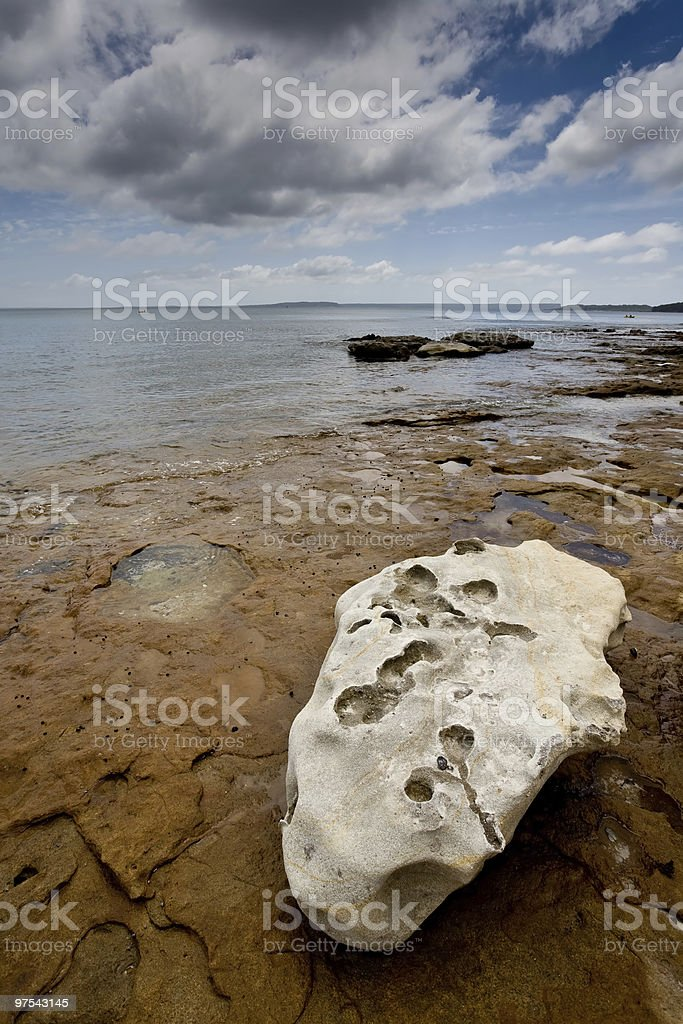 Rock Platform royalty-free stock photo