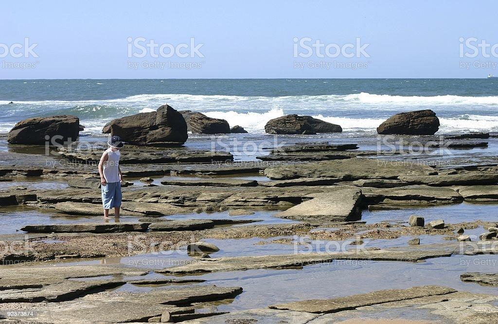 Rock Pools royalty-free stock photo