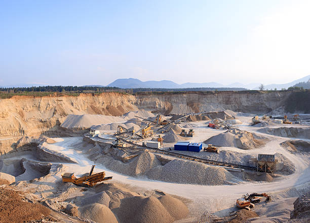Rock Quarry (XXXL+) stock photo