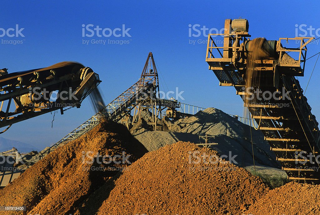 Rock Quarry royalty-free stock photo