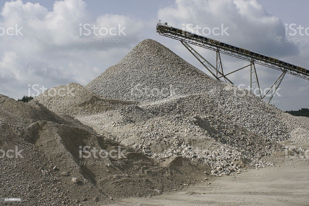 Rock Quarry royalty-free stock photo