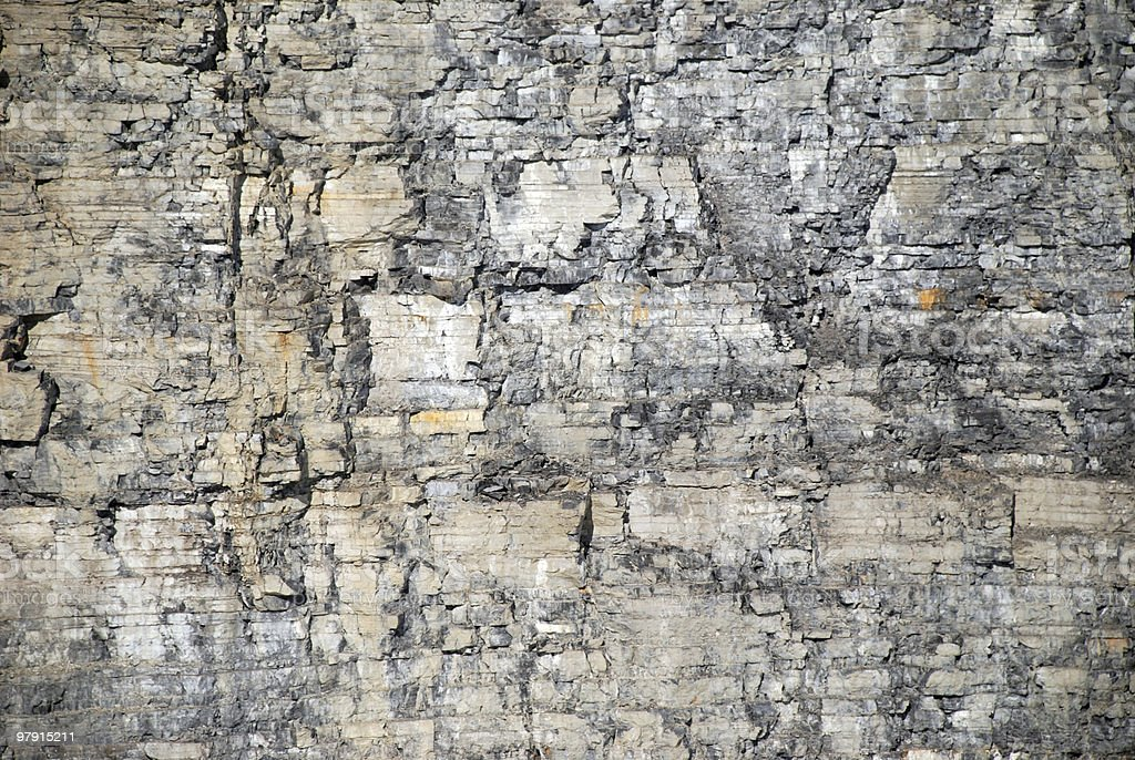 rock quarry wall background royalty-free stock photo