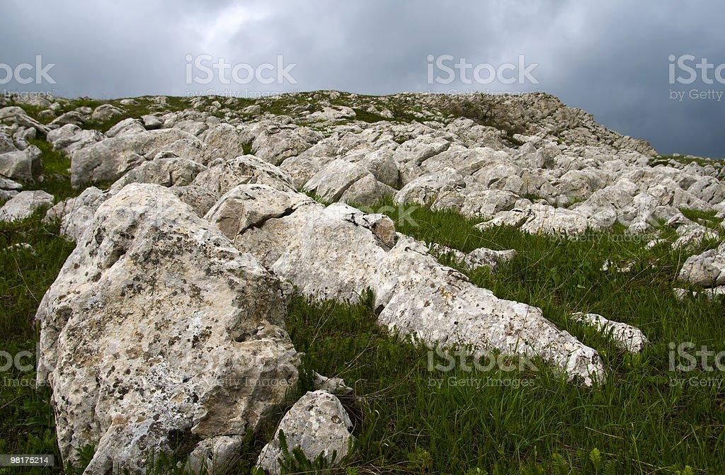 rock ridge royalty-free stock photo