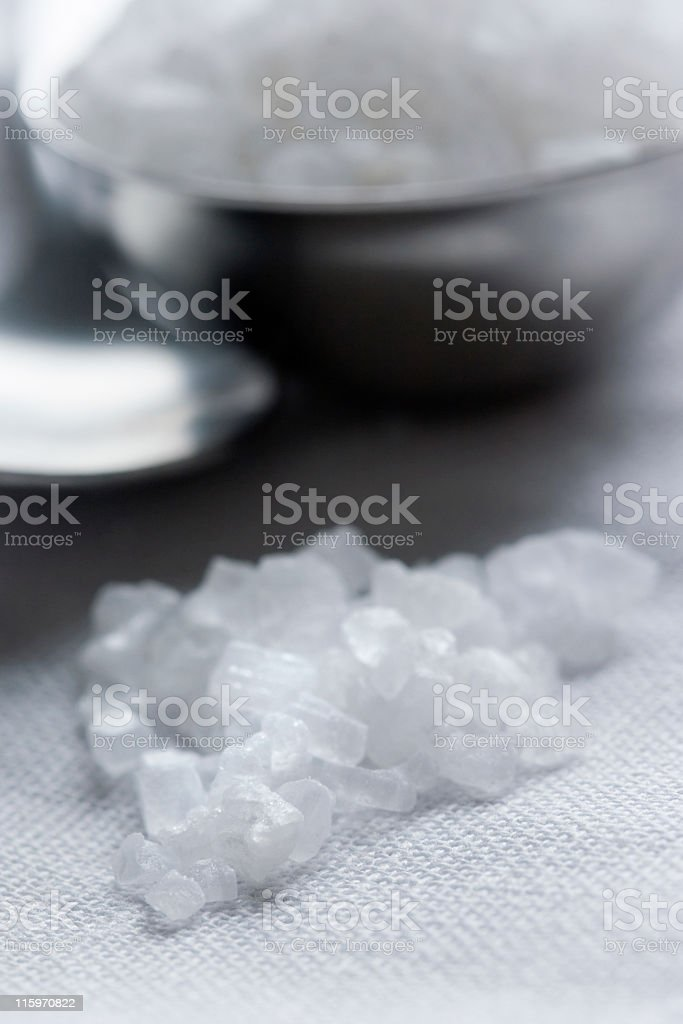 Rock salt royalty-free stock photo