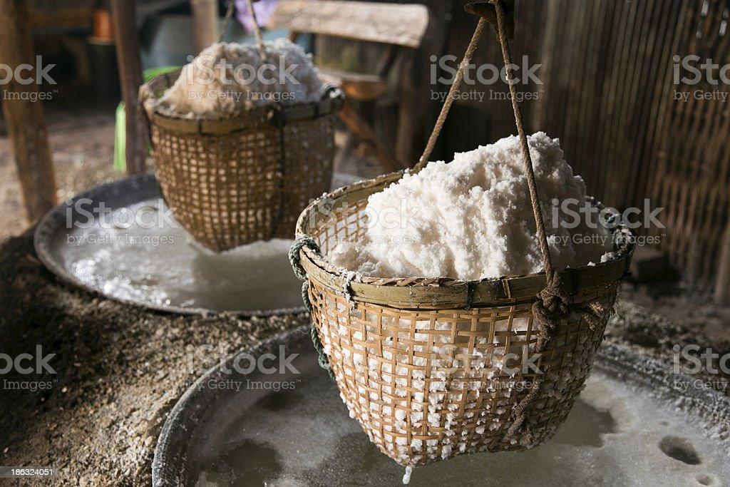 Rock Salt stock photo