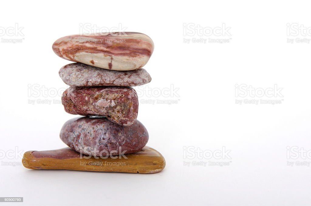 Rock Sandwich with Room for Text royalty-free stock photo