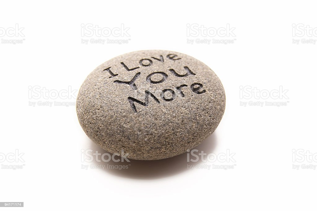 Rock Solid Love royalty-free stock photo