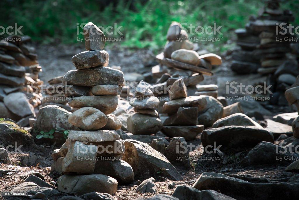 Rock Stack: stock photo