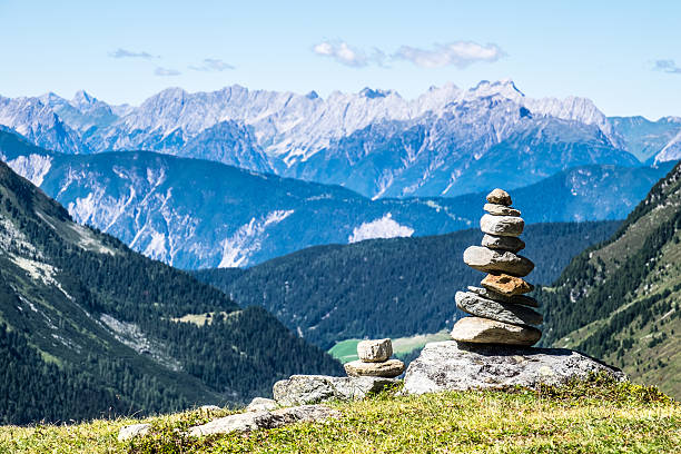 rock stack - stack rock stock pictures, royalty-free photos & images