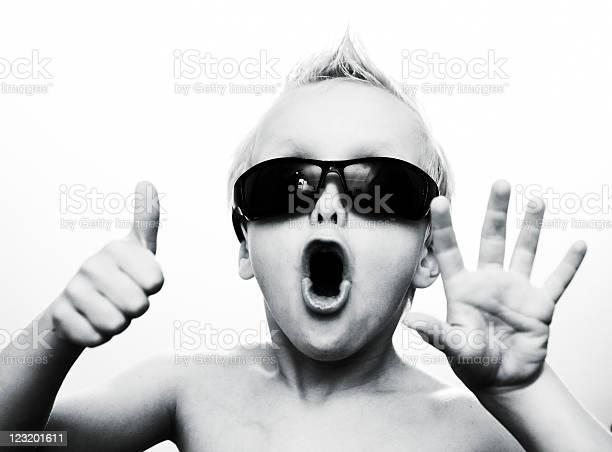 Photo of Rock star kid