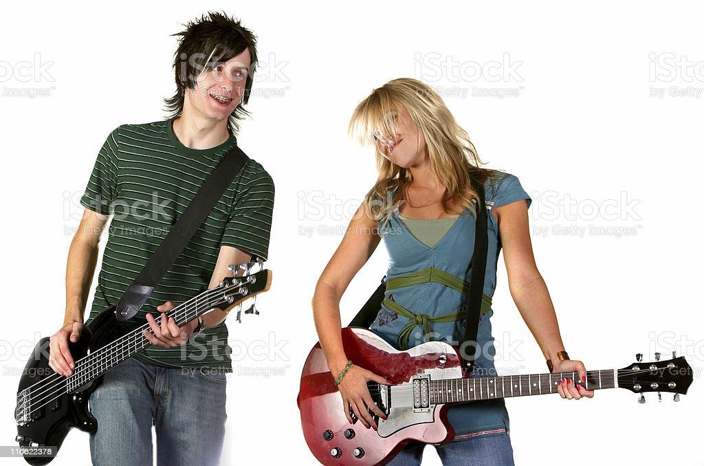 Rock Star Portraits stock photo