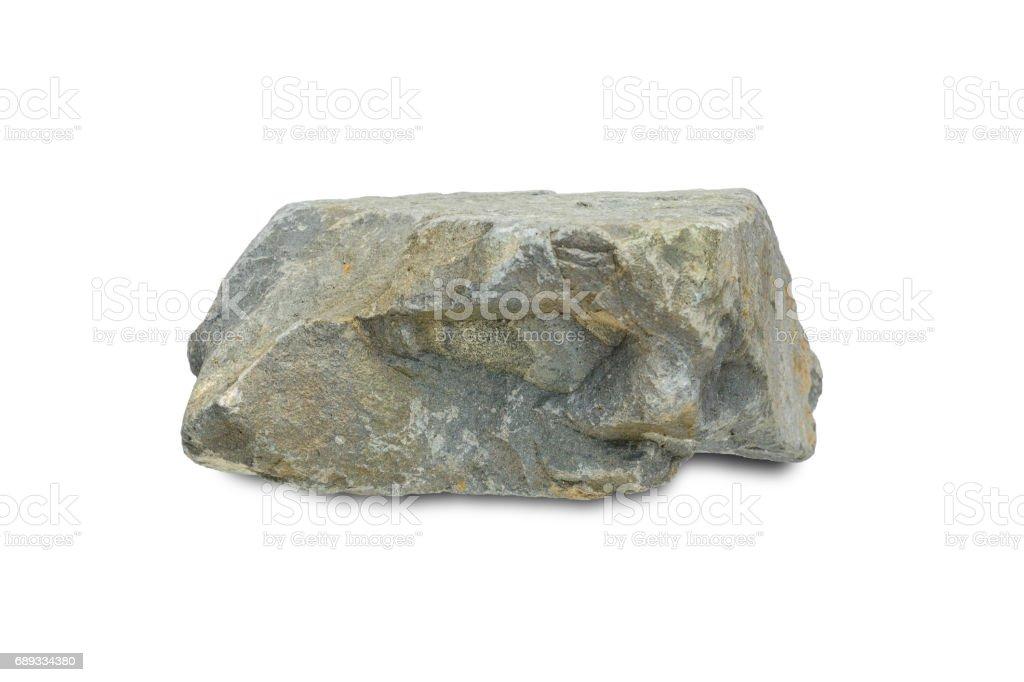 rock stone mountain isolated royalty-free stock photo