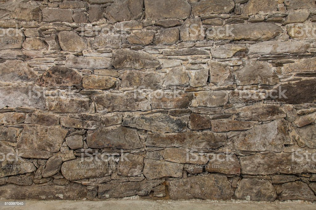 rock stones wall stock photo