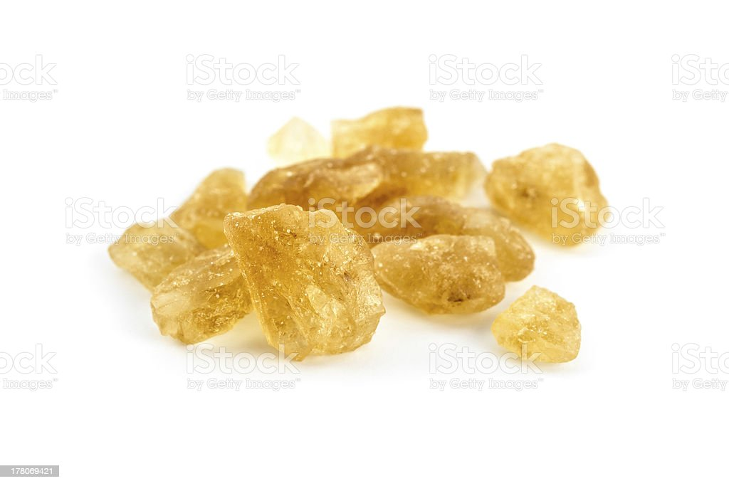 Rock sugar stock photo
