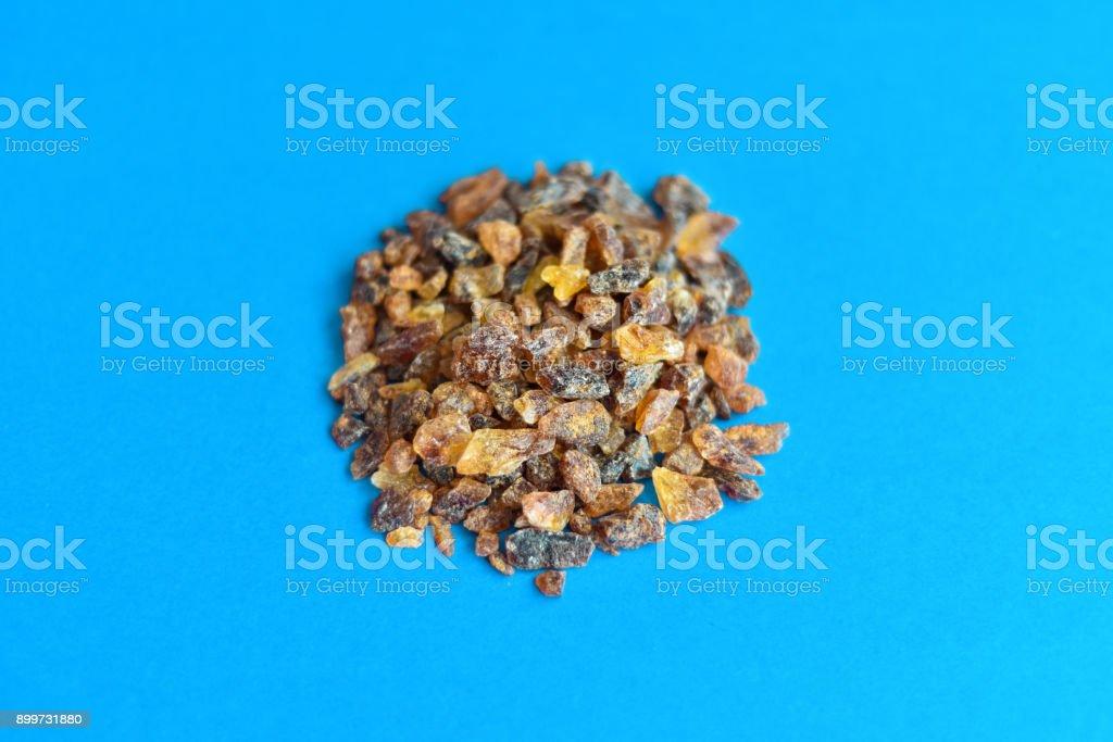 Rock Sugar Pile stock photo