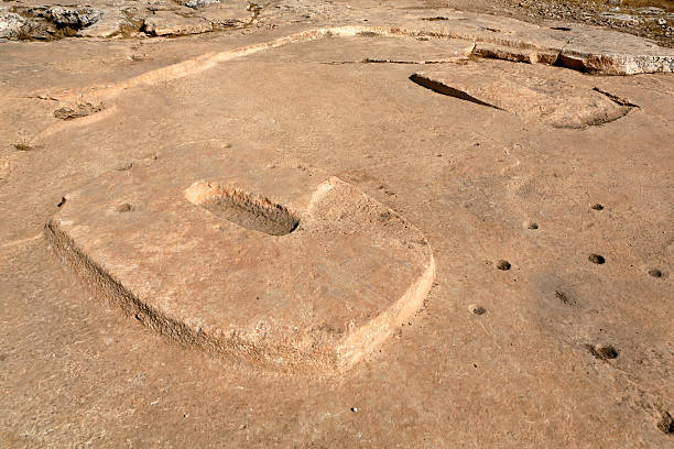 Rock Temple in Gobekli Tepe