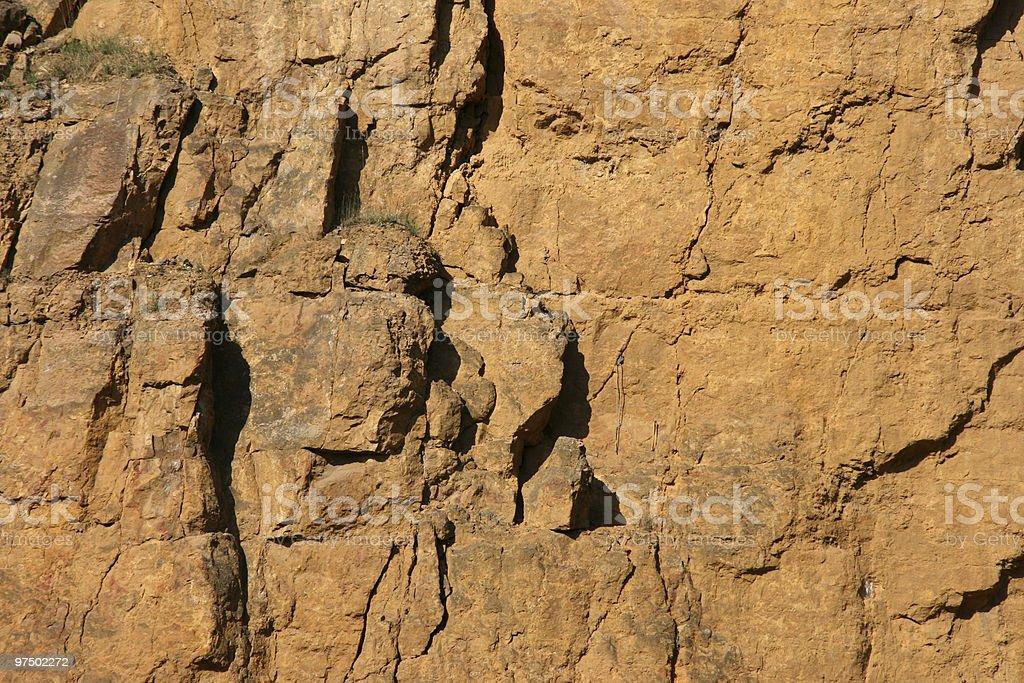 Rock texture stock photo