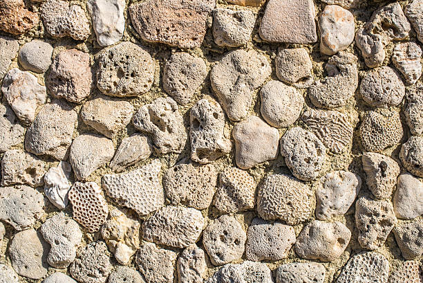 rock texture wall stock photo