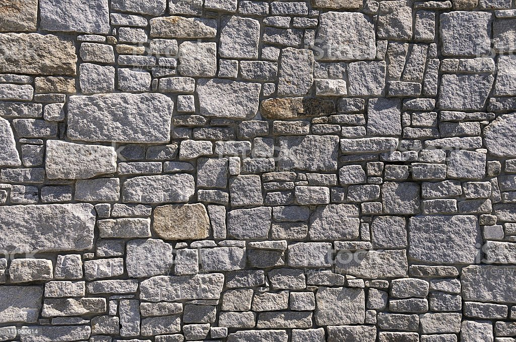 Rock Wall Background royalty-free stock photo