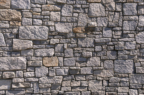 Rock Wall Background stock photo