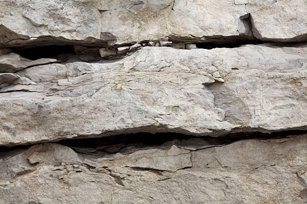 Rock wall closeup stock photo