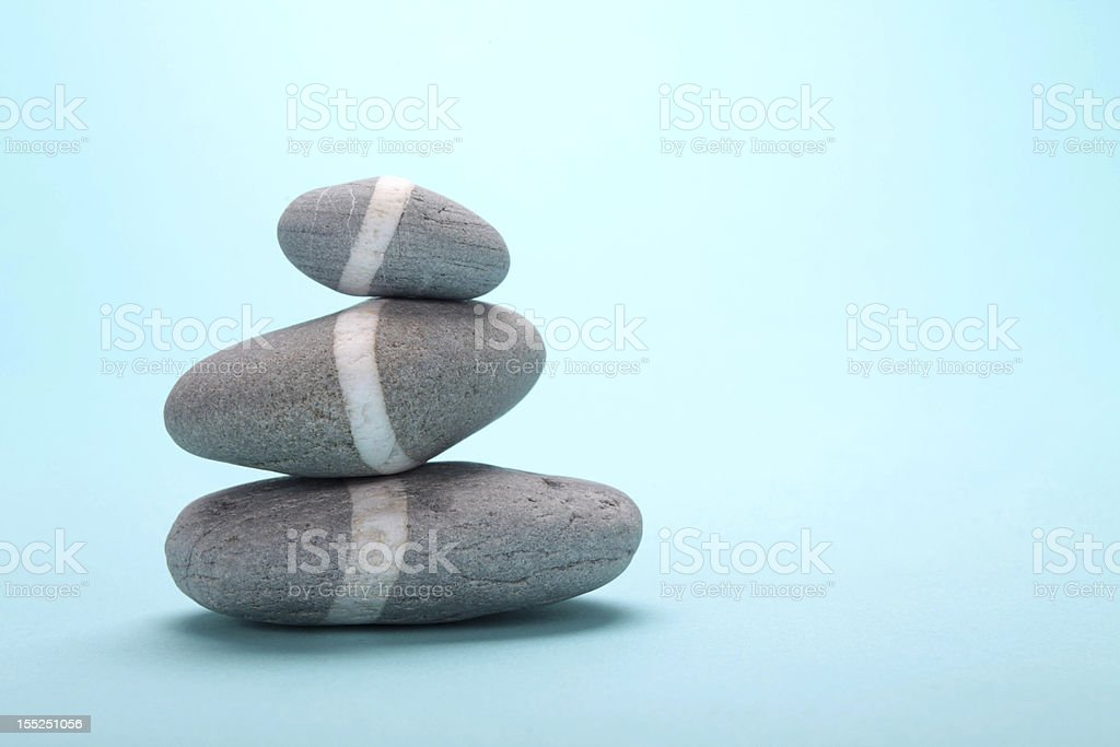 rock with white line royalty-free stock photo