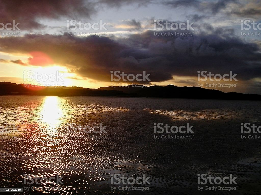 Rockcliffe Sunset stock photo
