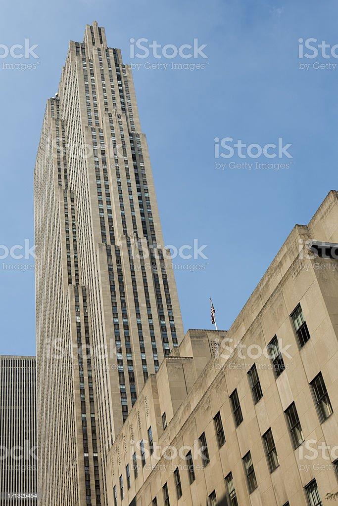 Rockefeller Center New York City, USA royalty-free stock photo