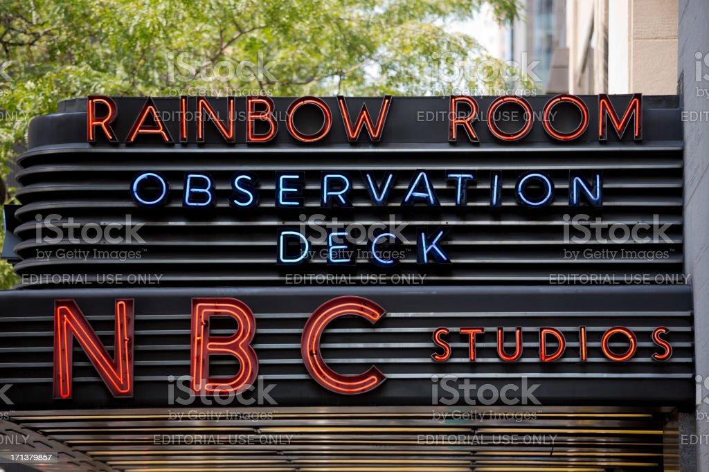 Rockefeller Center New York City, USA stock photo