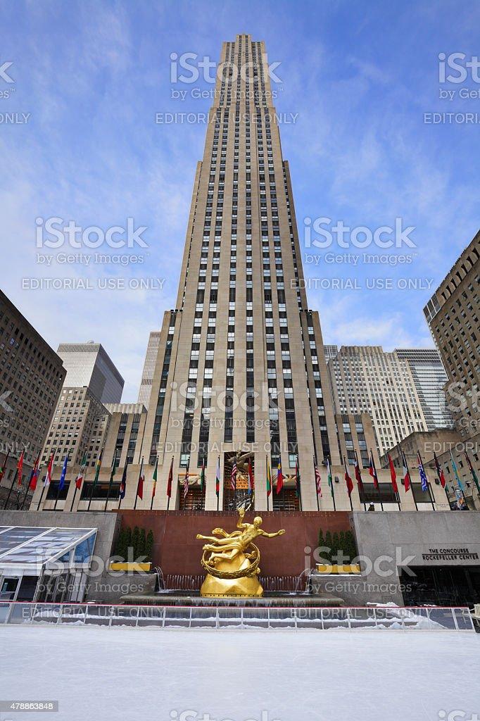 Rockefeller Center - New York stock photo