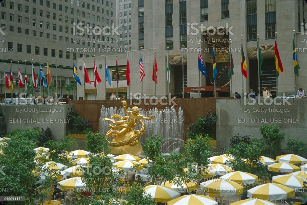 Rockefeller Center stock photo
