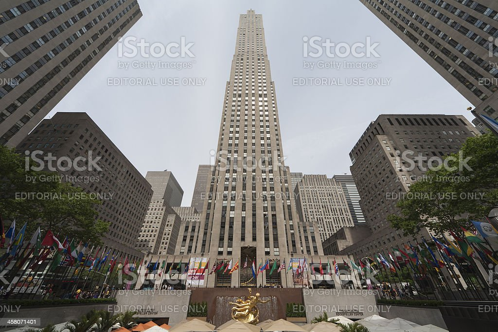 Rockefeller Centre stock photo