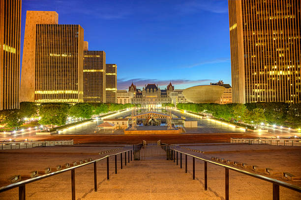 Rockefeller Empire State Plaza Rockefeller Empire State Plaza is a complex of several state government buildings in downtown Albany, New York. albany county new york state stock pictures, royalty-free photos & images